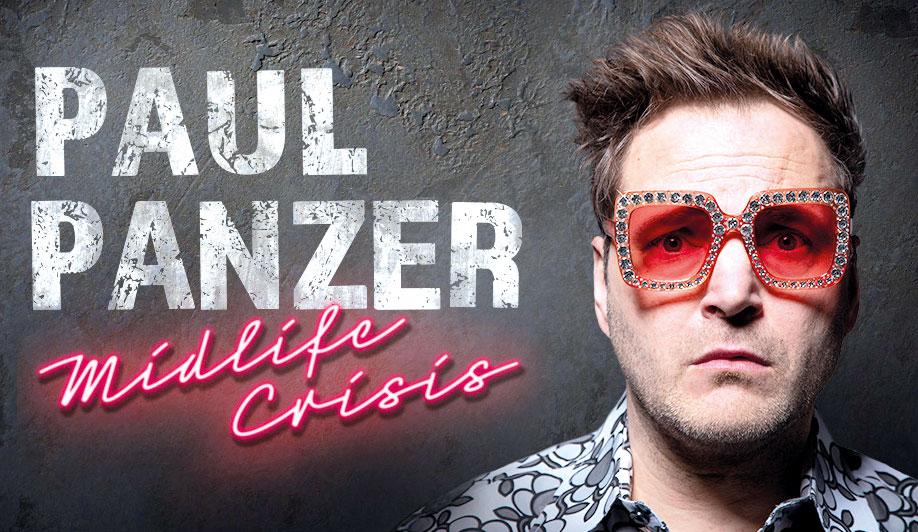 """Gefragter Comedy-Star: Paul Panzer präsentiert sein Programm """"Midlife Crisis""""."""
